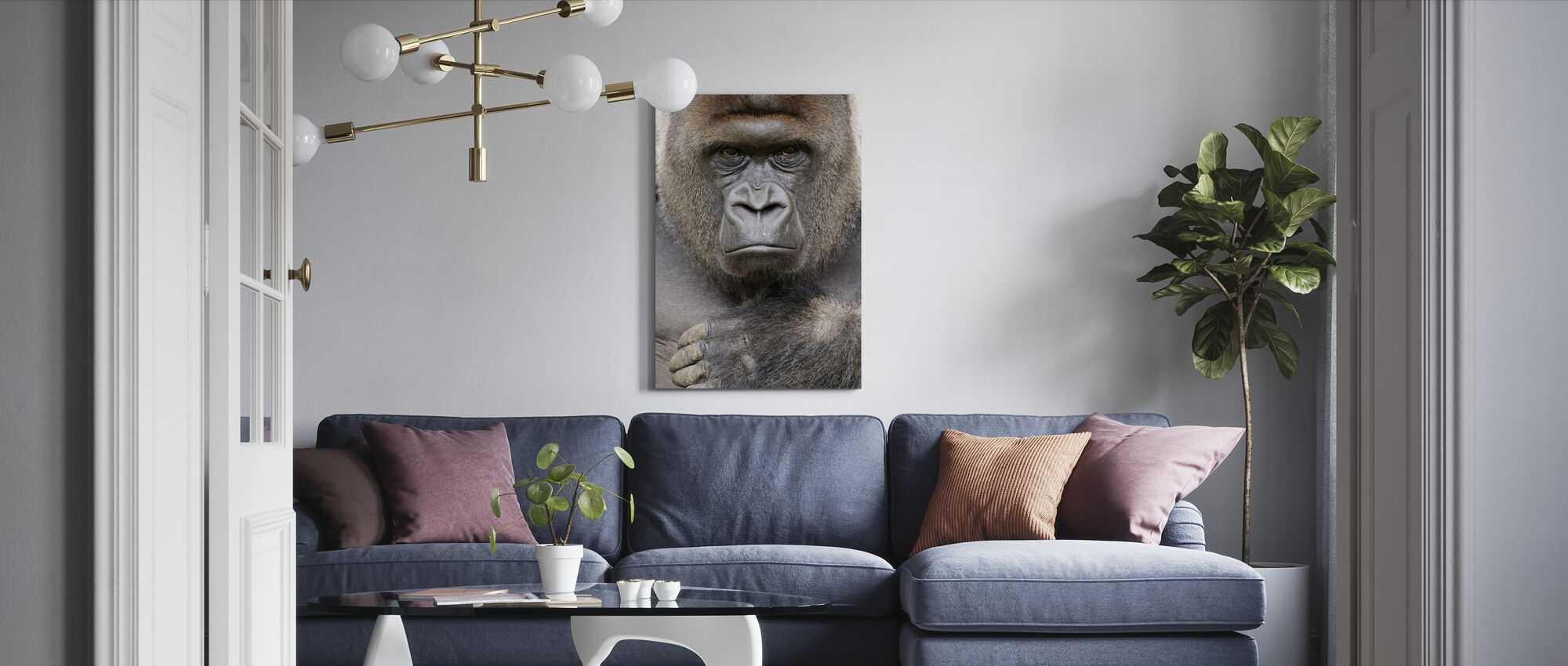 Bepaald - Canvas print - Woonkamer