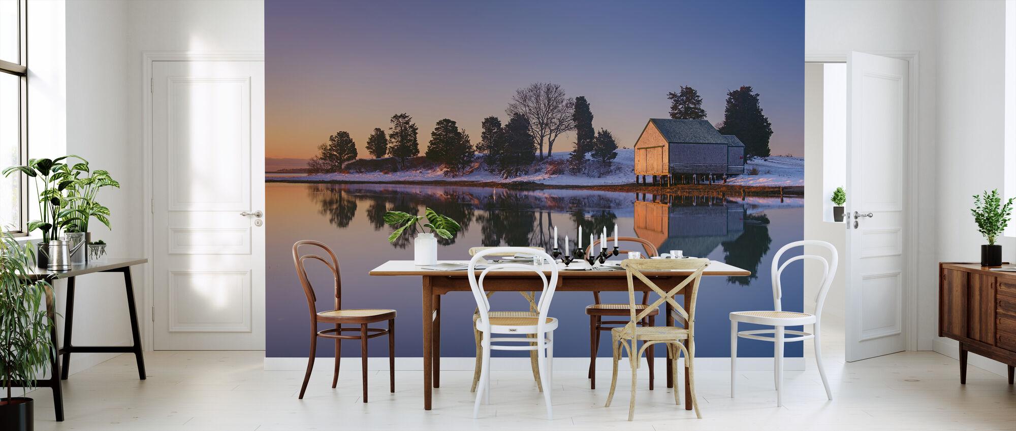Vinter Refleksjon - Tapet - Kjøkken