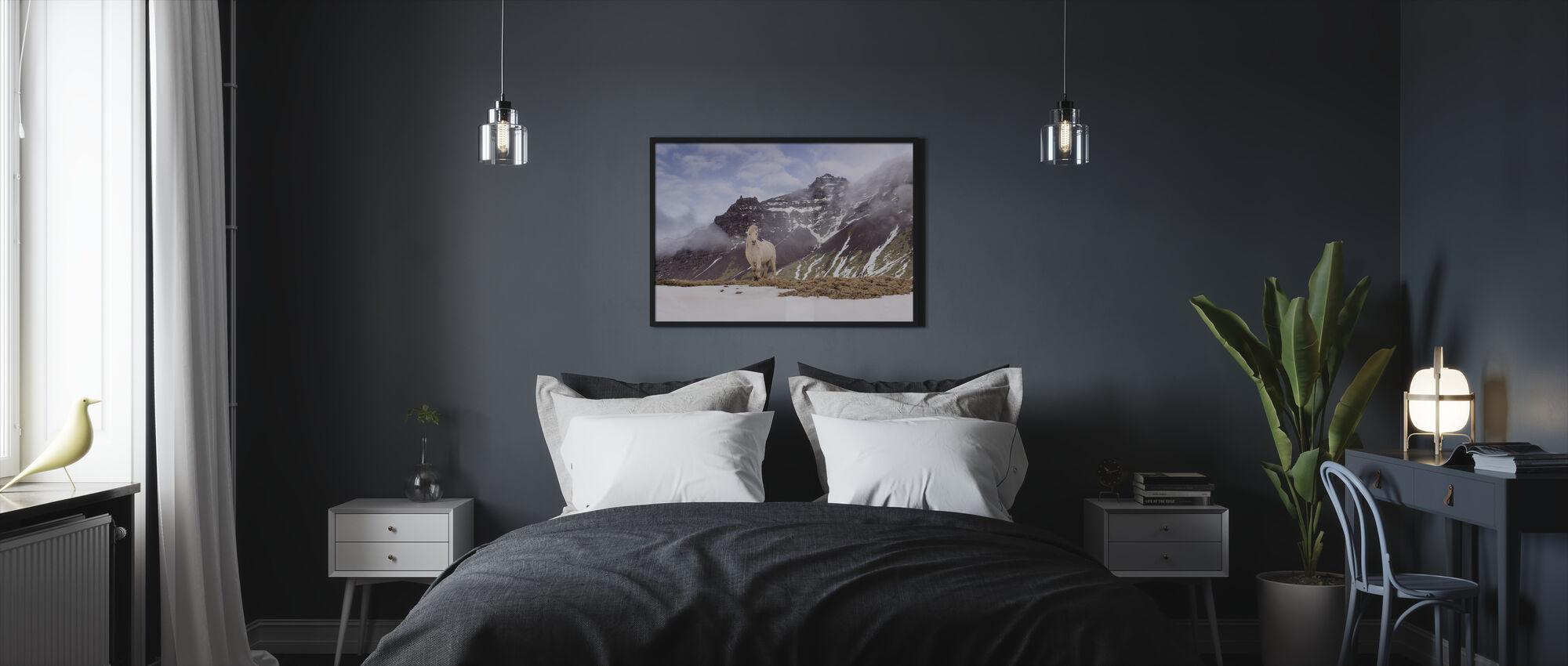 You Looking at Me - Framed print - Bedroom