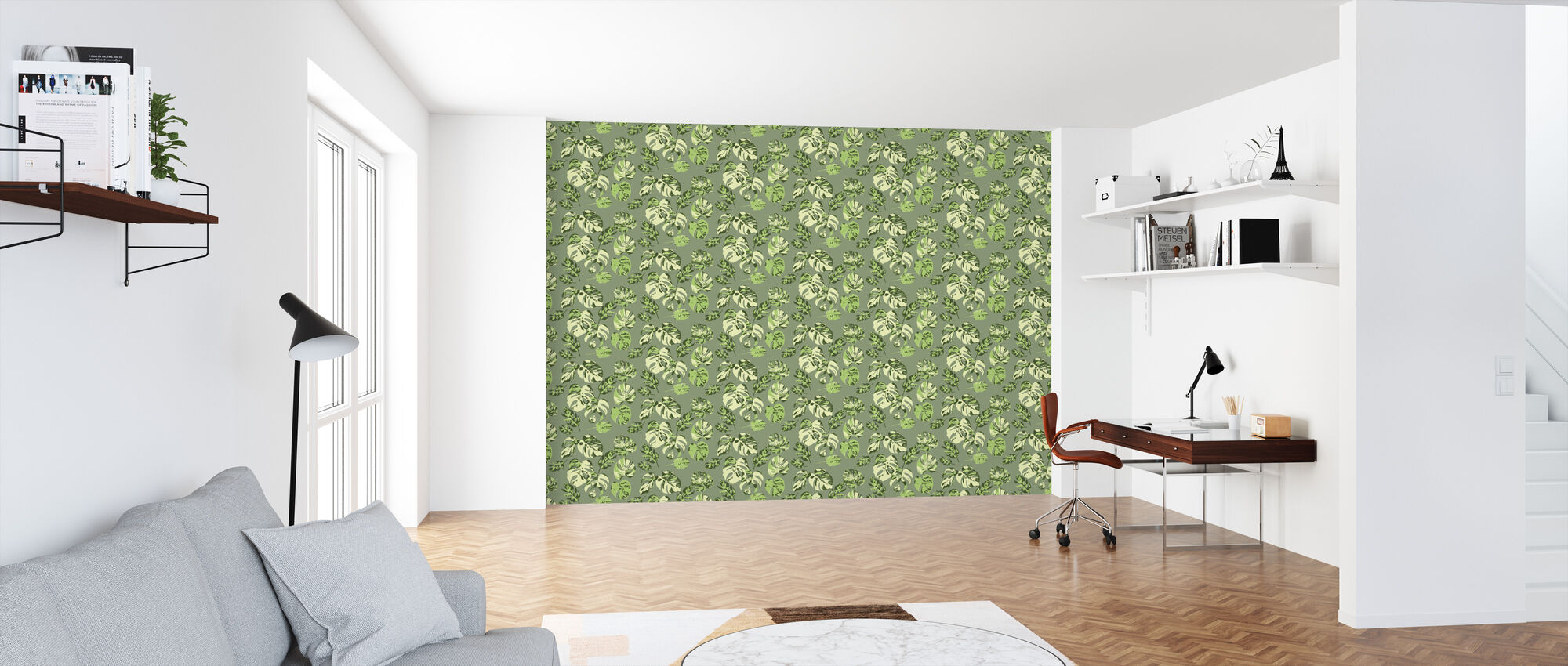 Monstera no 7 - Wallpaper - Office