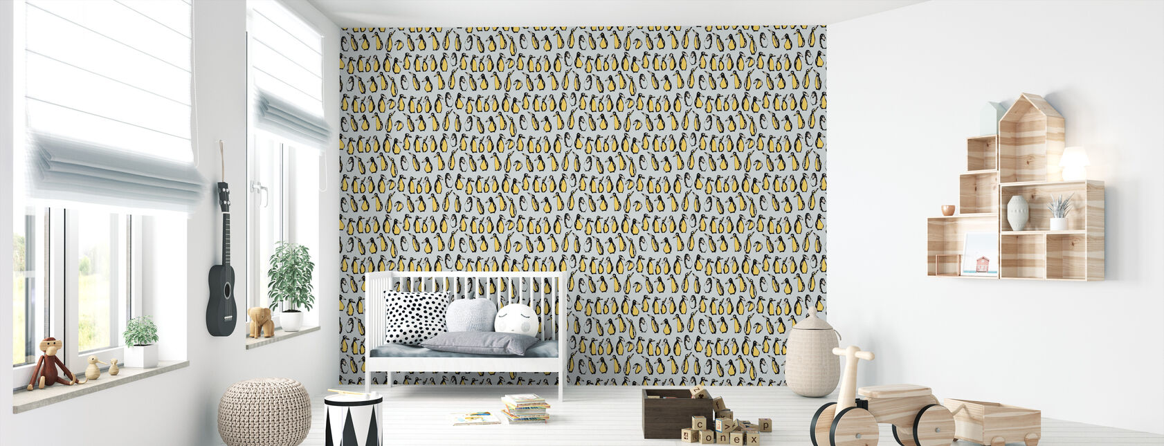 Penguin 50's - Wallpaper - Nursery