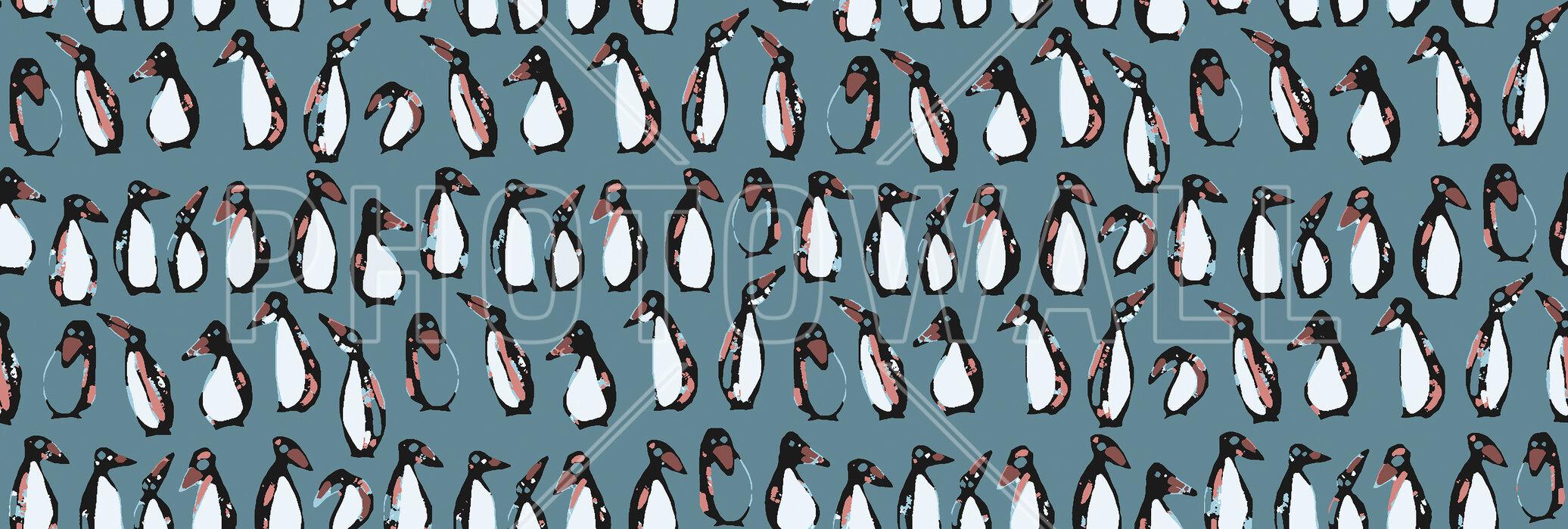 Penguin night papel pintado personalizado y de alta for Papel pintado personalizado