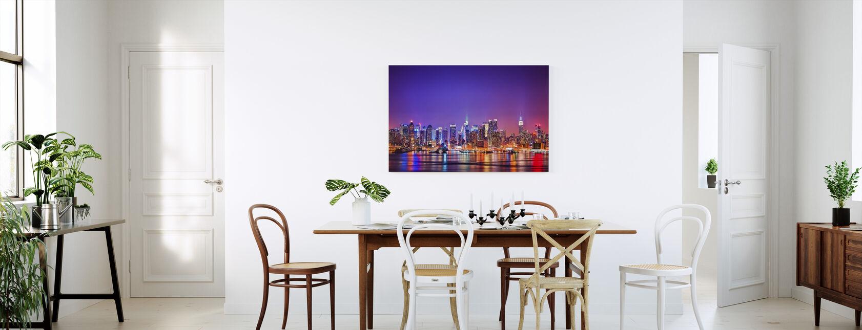 New York in Pink - Canvas print - Kitchen