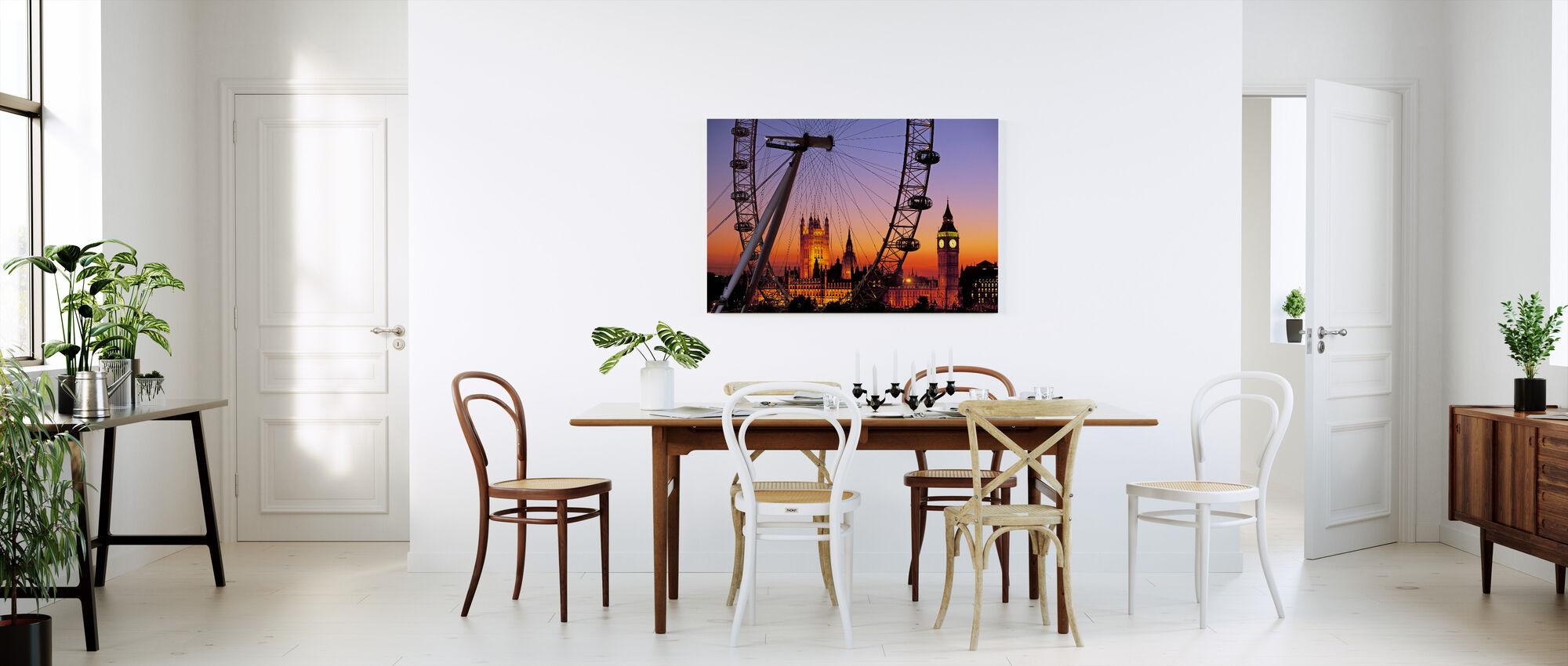 London Eye - Canvas print - Kitchen
