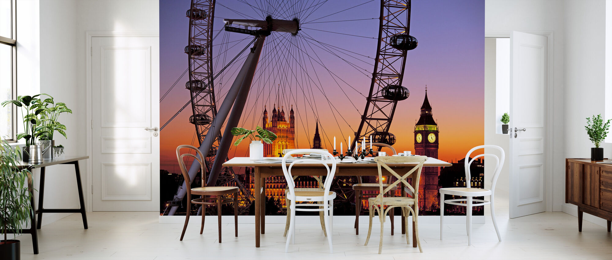 London Eye - Wallpaper - Kitchen