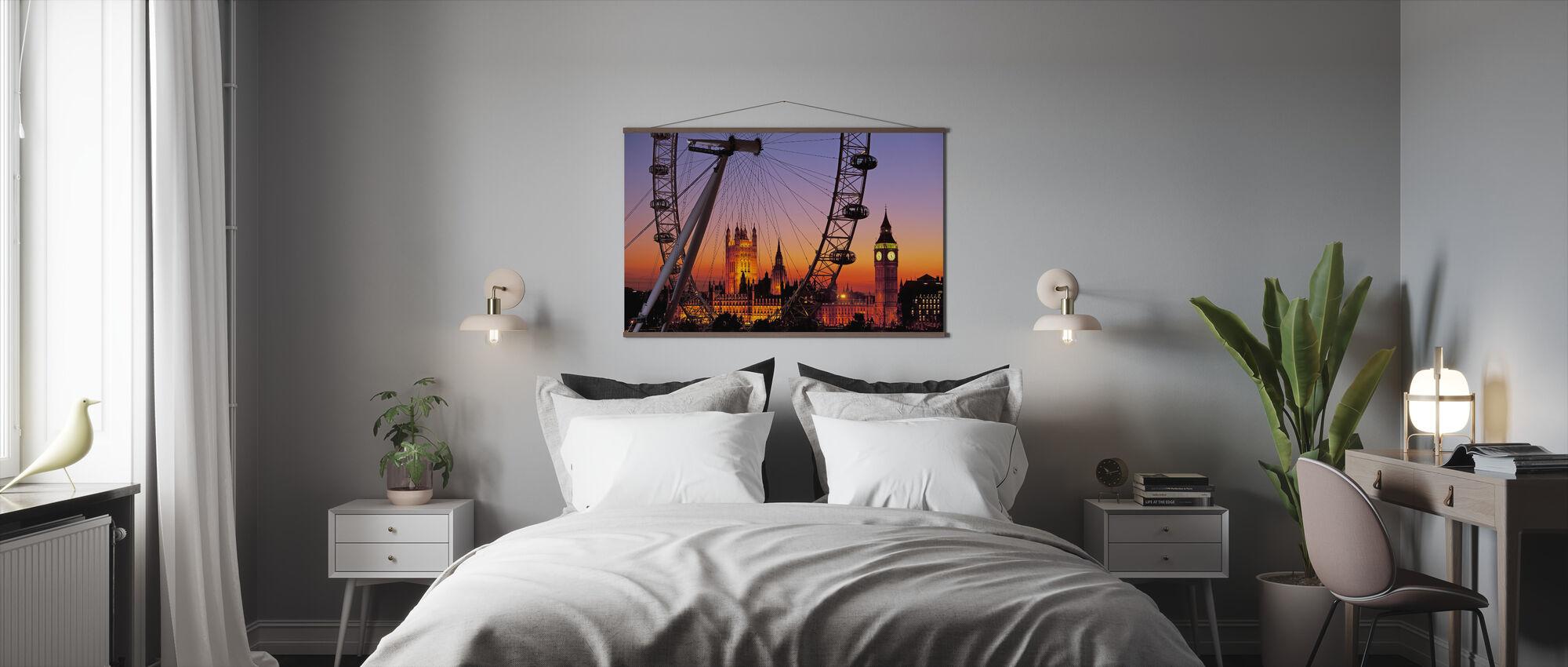 London Eye - Poster - Slaapkamer