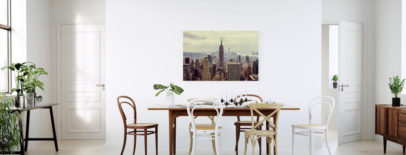 Det er Manhattan. - Billede på lærred - Køkken
