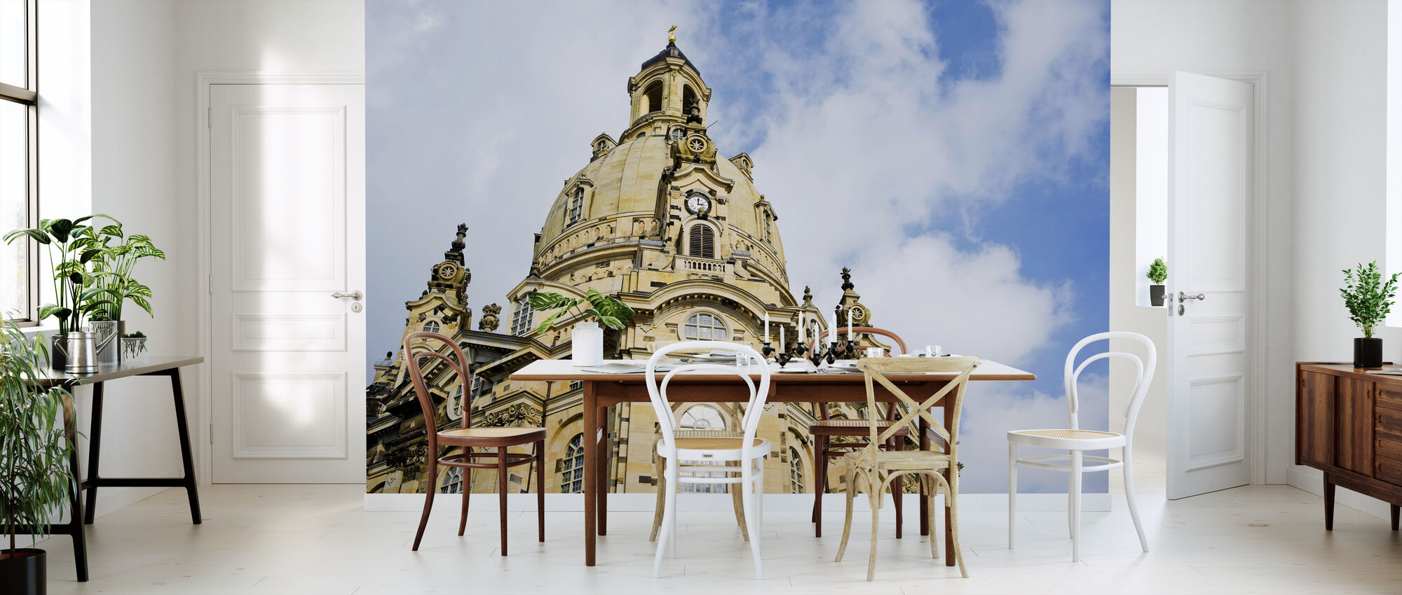 Frauenkirche in Dresden - Wallpaper - Kitchen