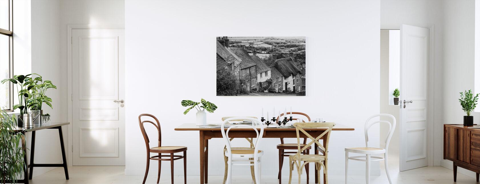 Gold Hill Shaftsbury Somerset - Canvas print - Kitchen
