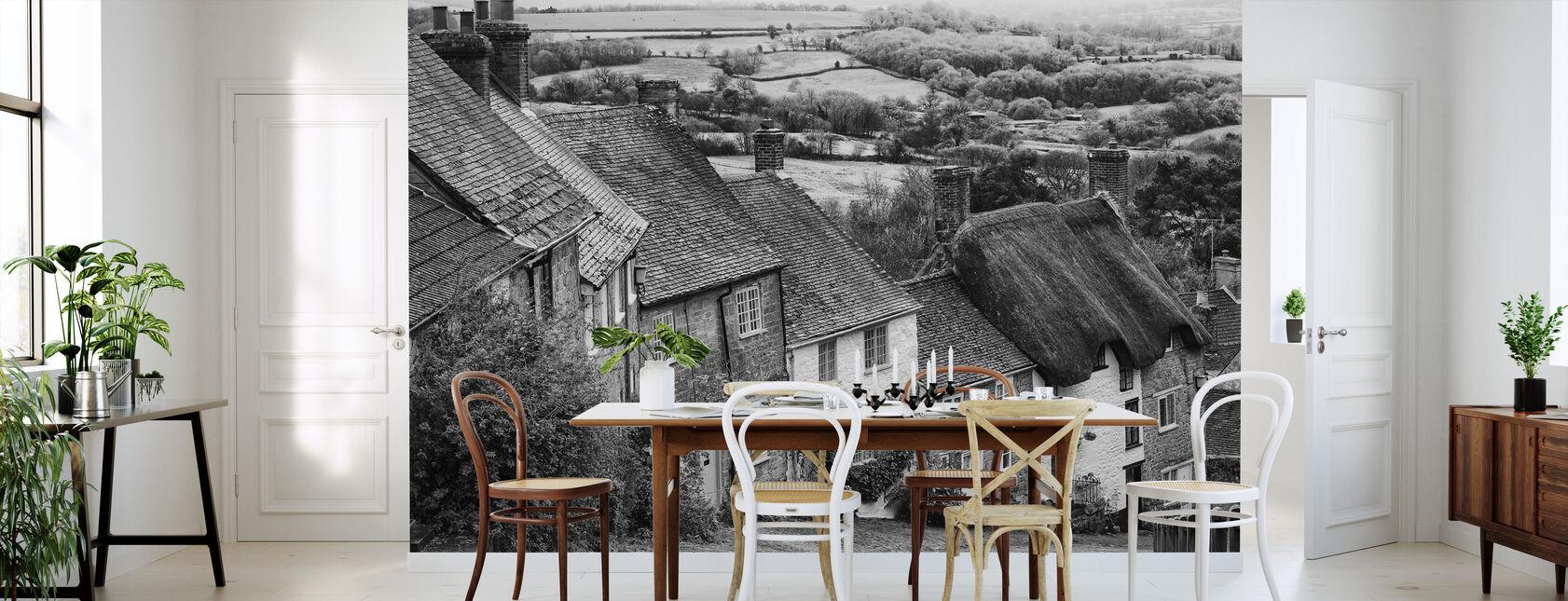 Gold Hill Shaftsbury Somerset - Wallpaper - Kitchen