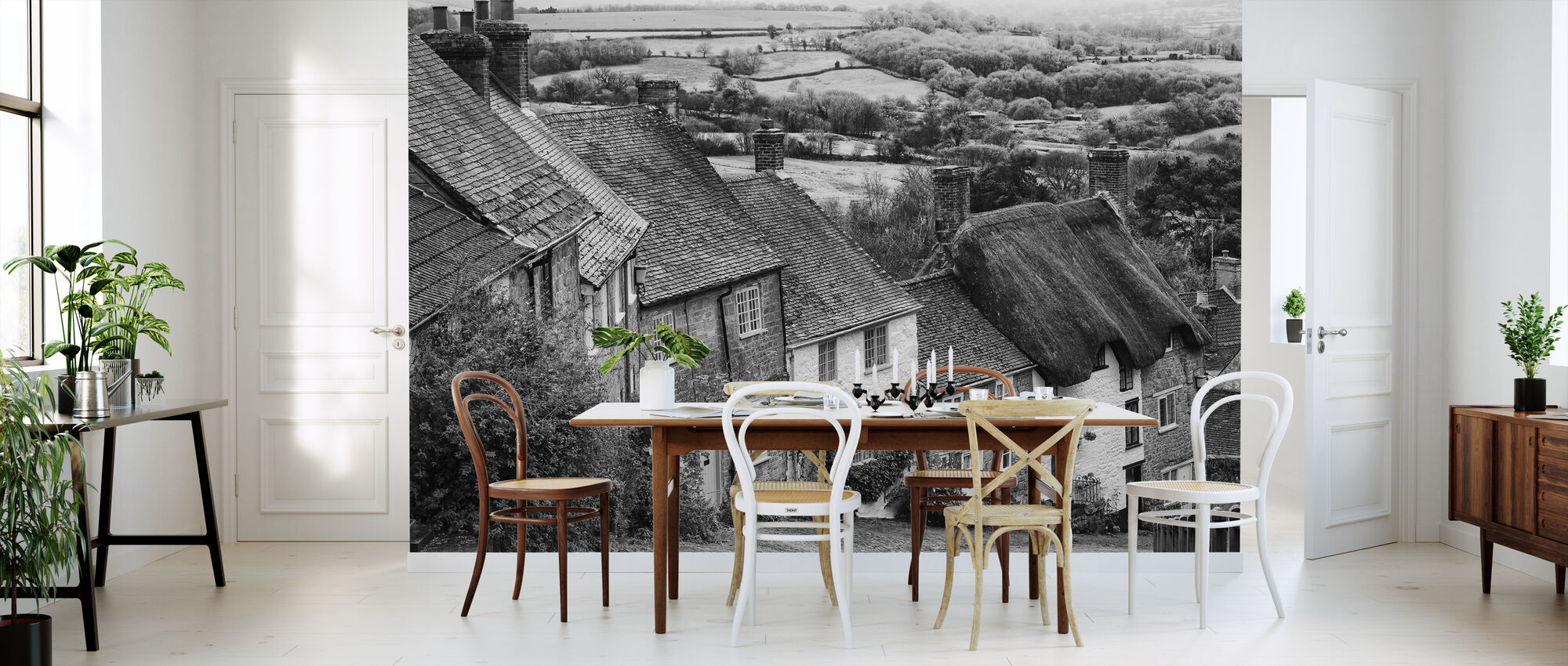Gold Hill Shaftsbury Somerset - Wallpaper - Kitchen