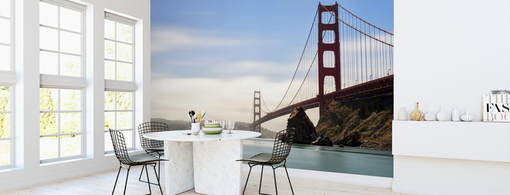 Długotrwała ekspozycja mostu Golden Gate - Tapeta - Kuchnia