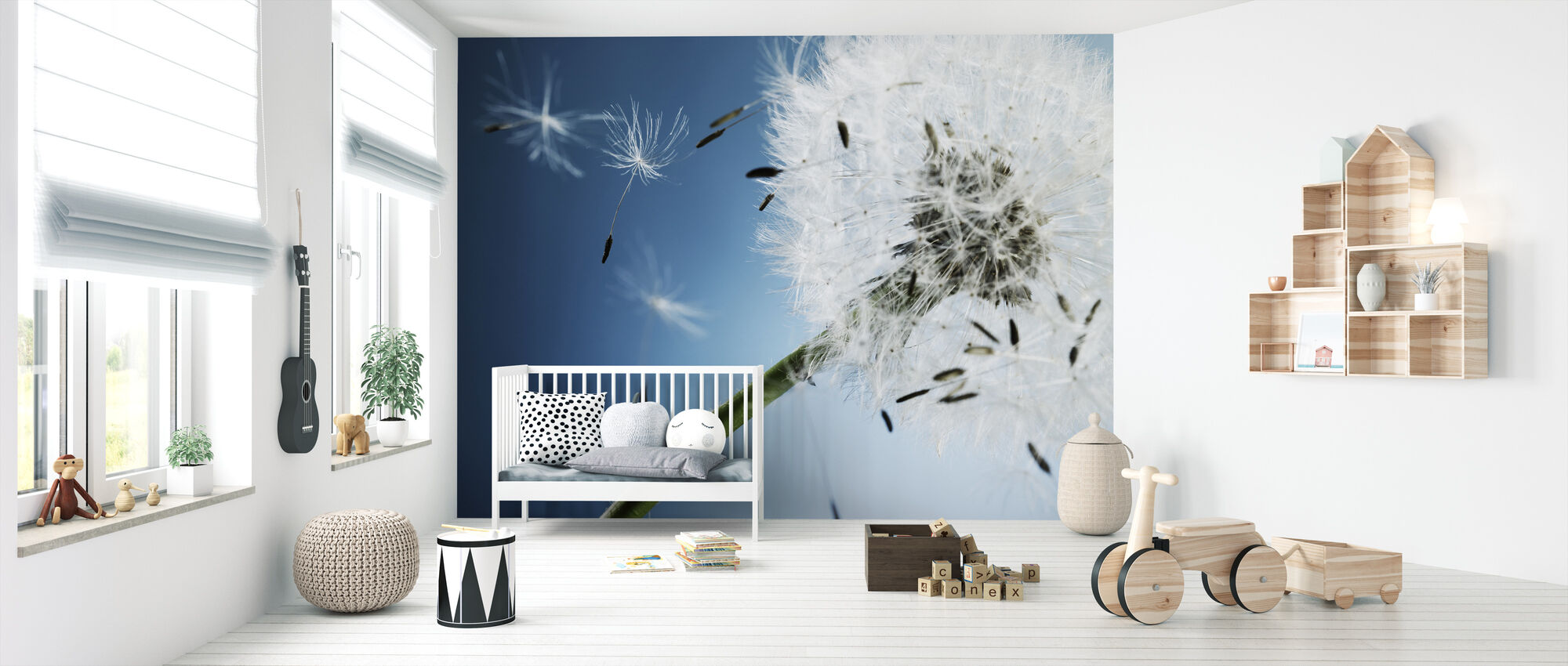 Dandelion on Drift - Wallpaper - Nursery
