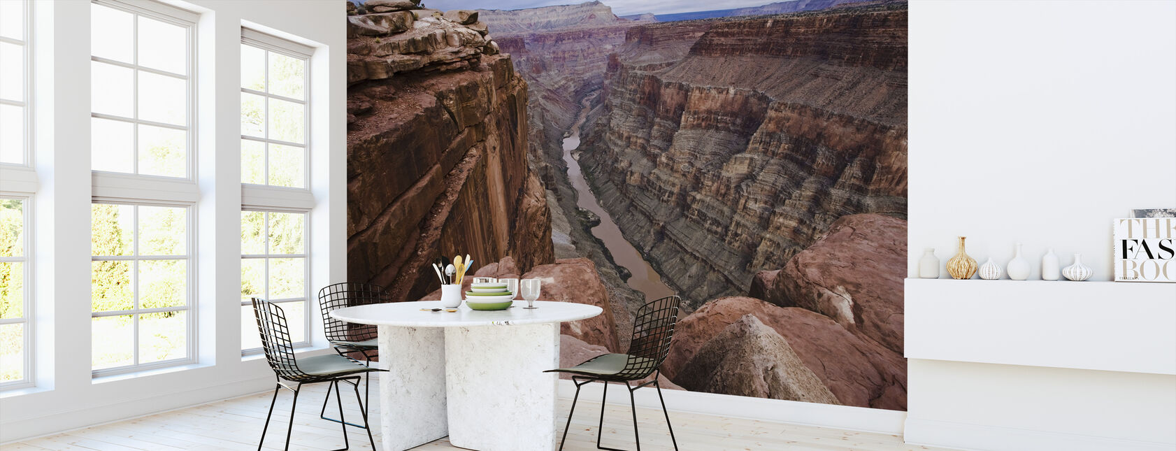 High above the Colorado River - Wallpaper - Kitchen