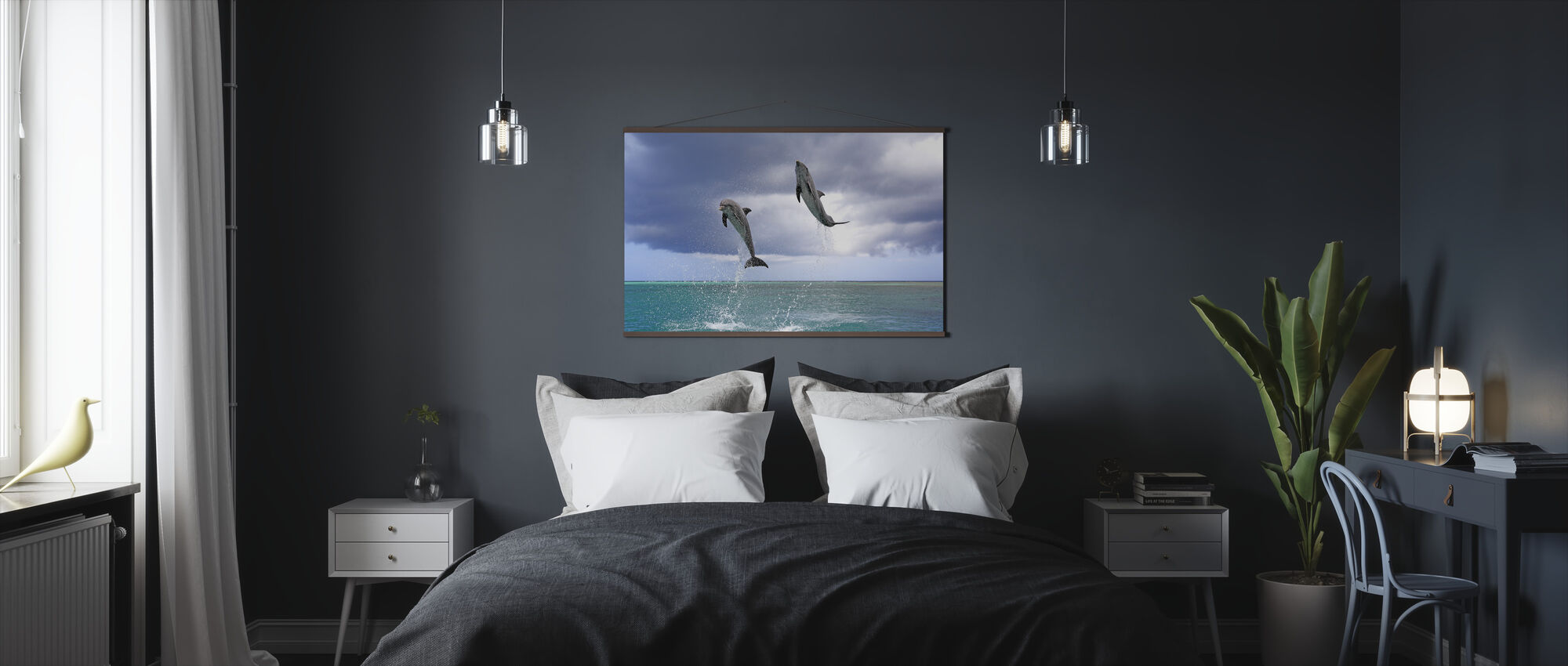 Jumping Dolphins - Poster - Bedroom