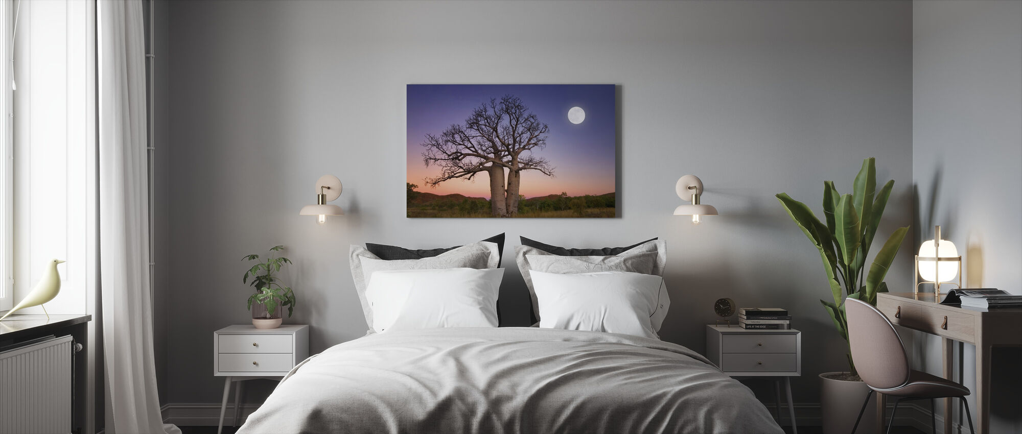 Dancing Boabs Kununurra - Canvas print - Bedroom