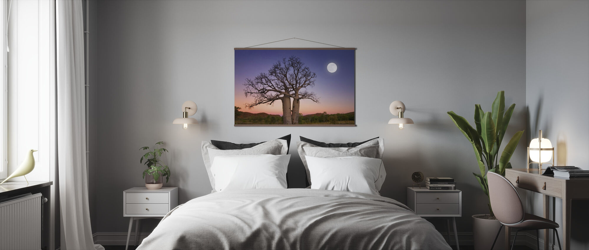 Dancing Boabs Kununurra - Poster - Bedroom