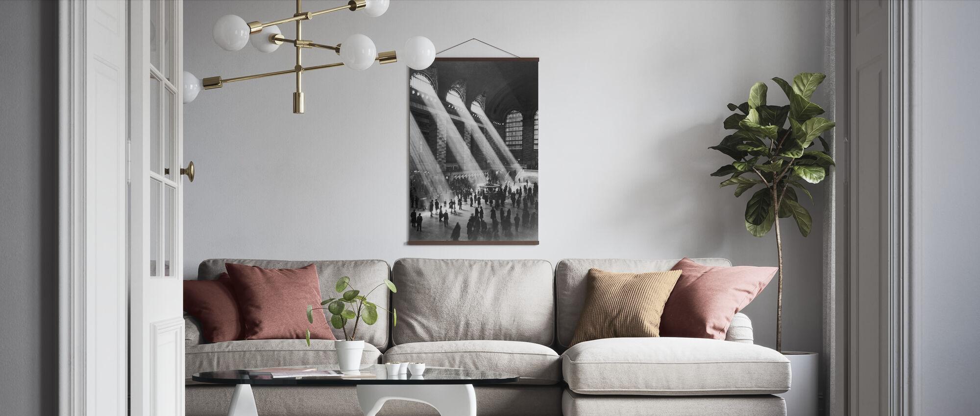 Grand Central Station - New York - Poster - Living Room