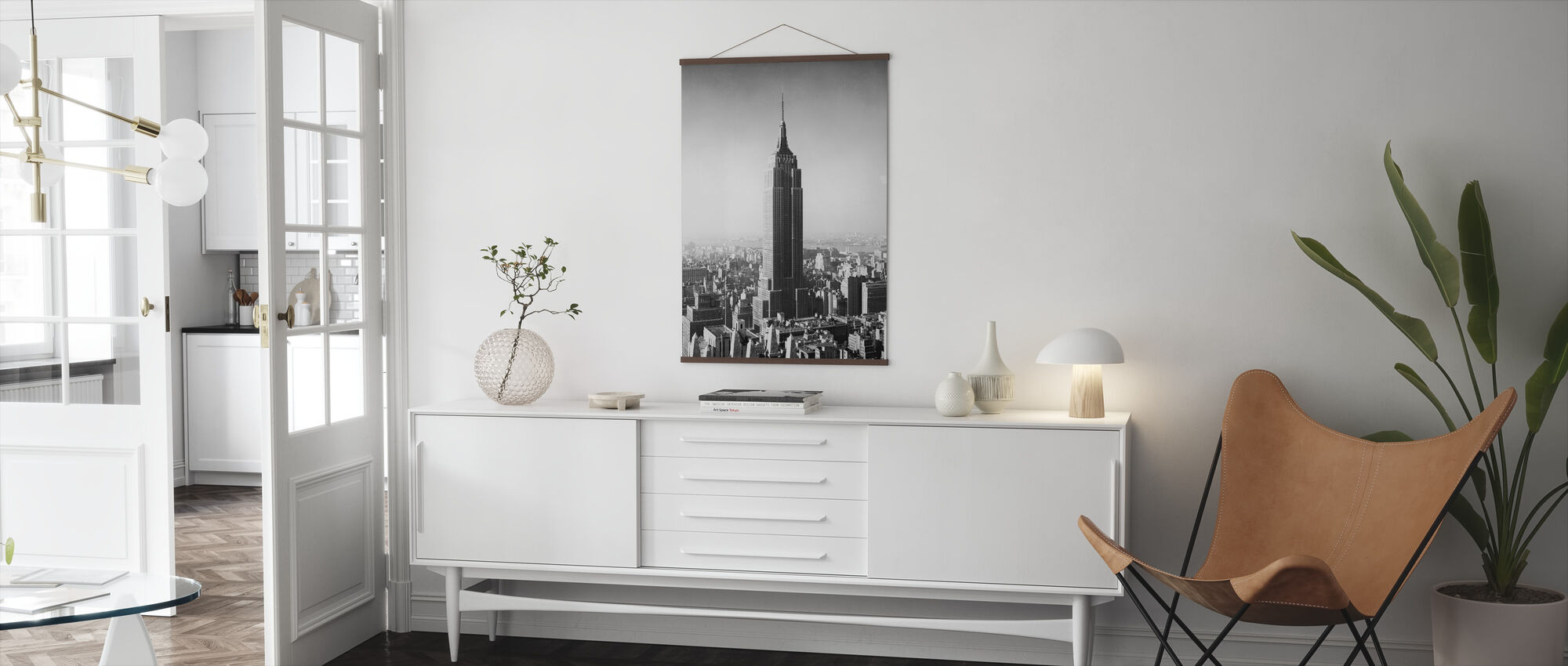 1955 The Empire State Building - Poster - Living Room
