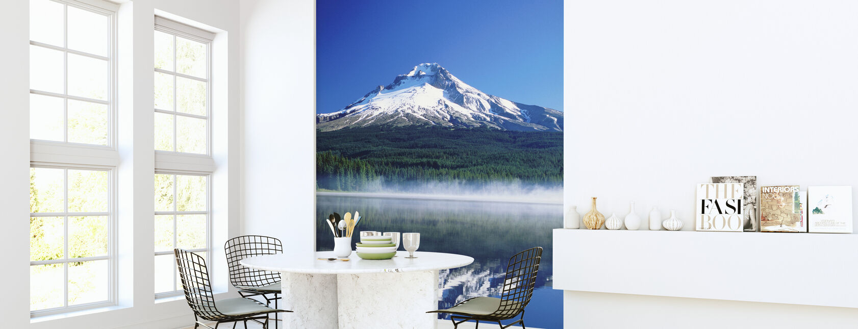 Trillium Lake in Oregon - Wallpaper - Kitchen