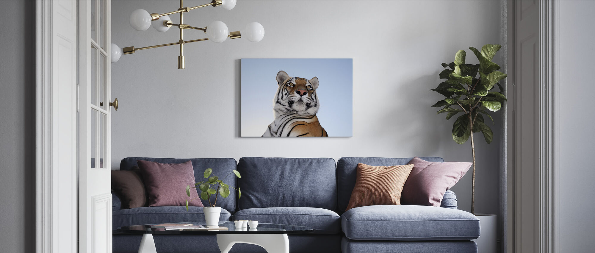 King of the Mountain - Canvas print - Living Room
