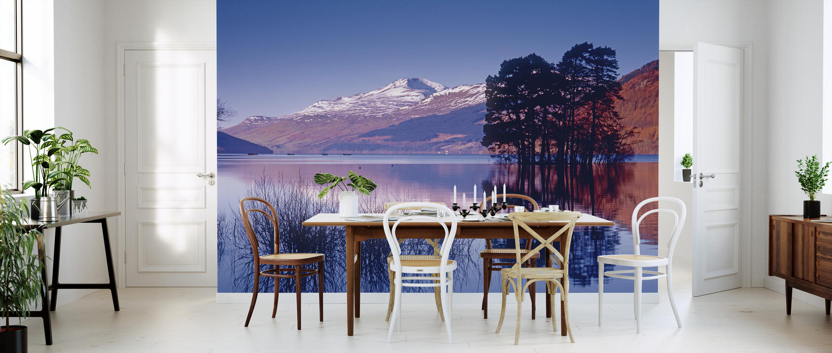 loch tay of kenmore scotland fototapete nach ma. Black Bedroom Furniture Sets. Home Design Ideas