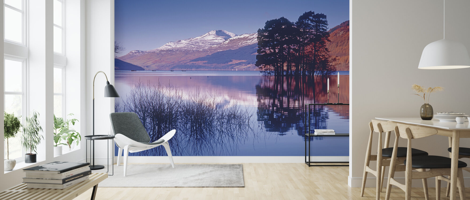 Loch Tay of Kenmore, Scotland - Wallpaper - Living Room