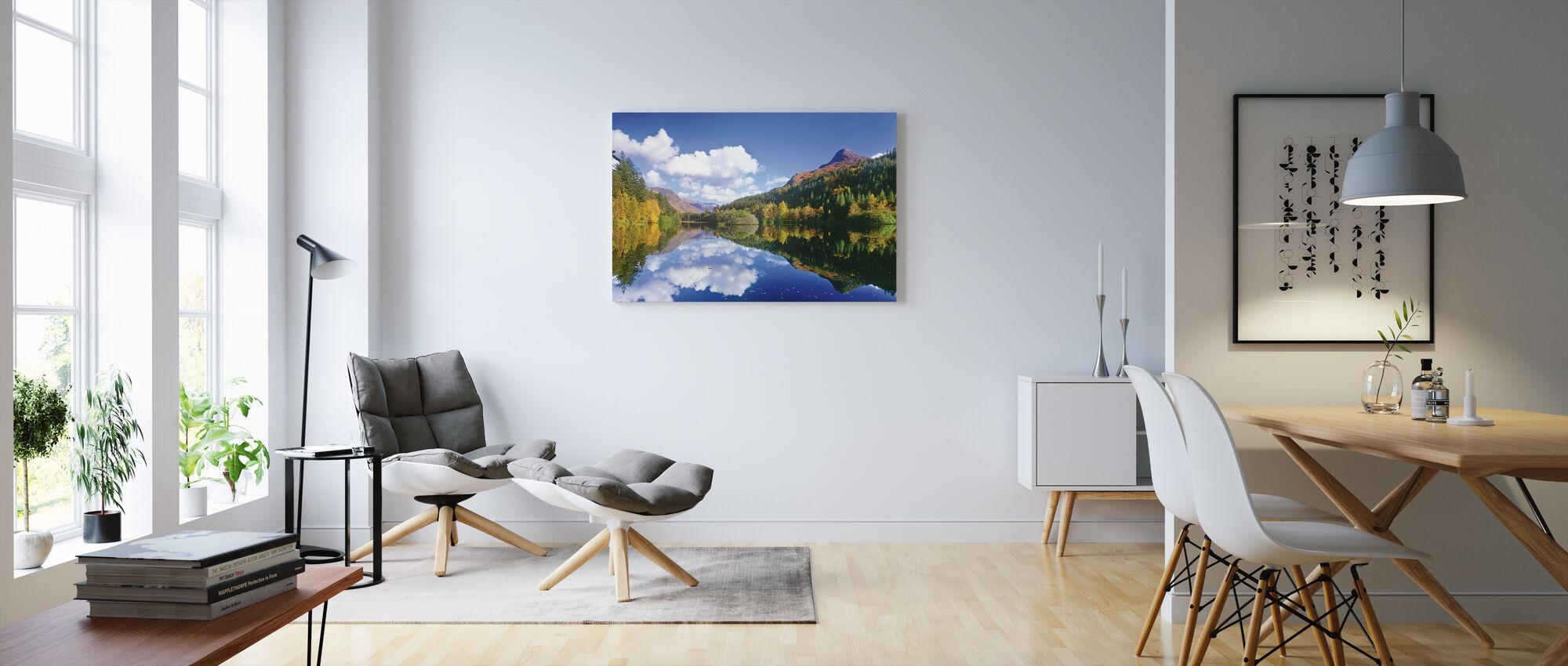 Glencoe Lochan, Skottland - Canvastavla - Vardagsrum