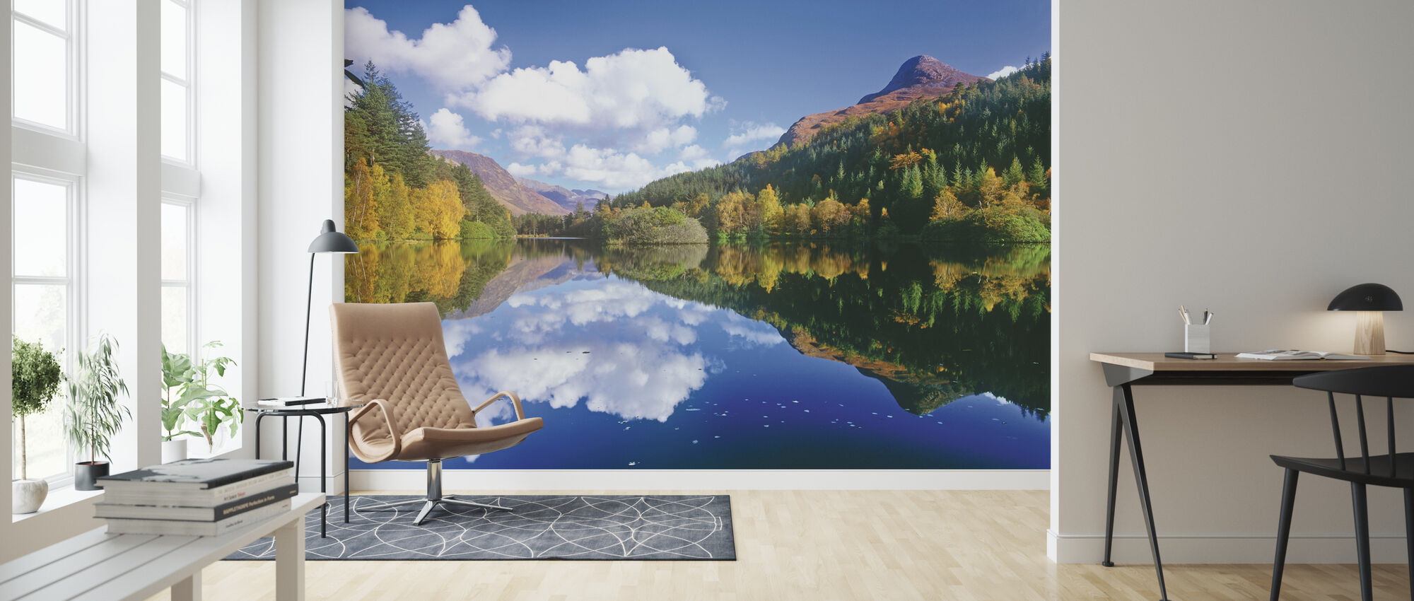 Glencoe Lochan, Scotland - Wallpaper - Living Room