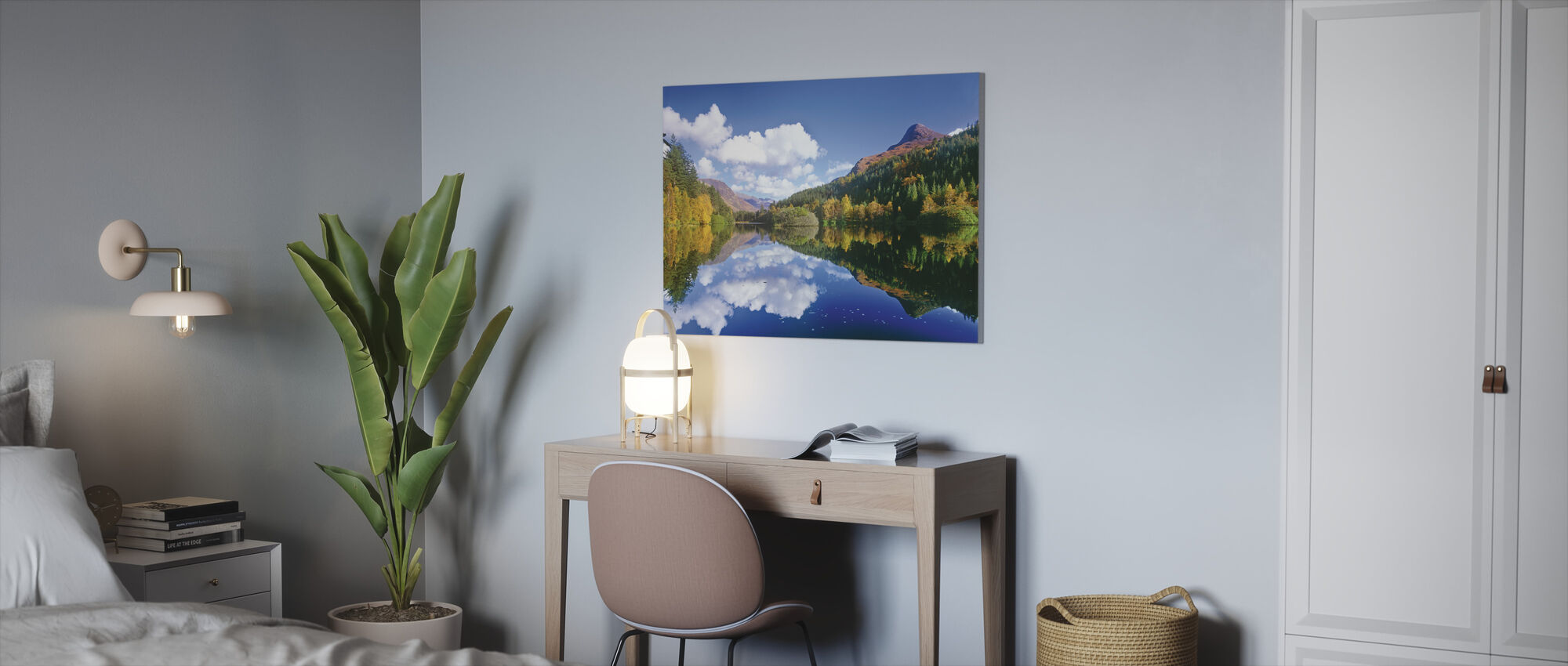 Glencoe Lochan, Scotland - Canvas print - Office