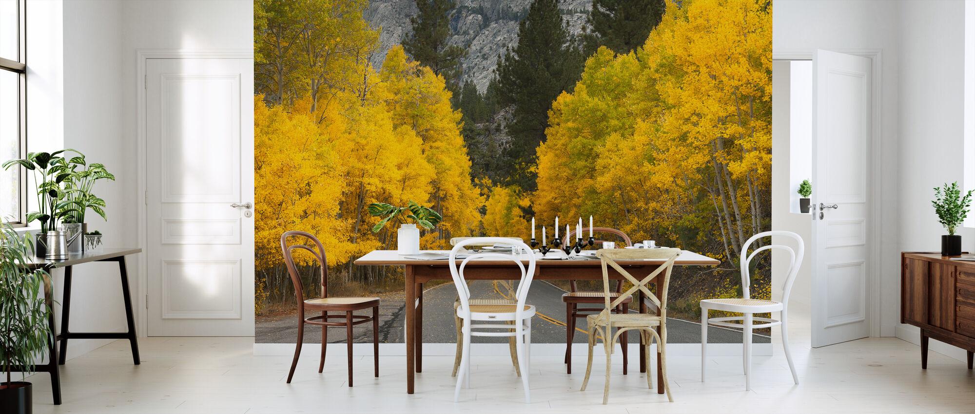 Eastern Sierra Autumn Landscape - Wallpaper - Kitchen