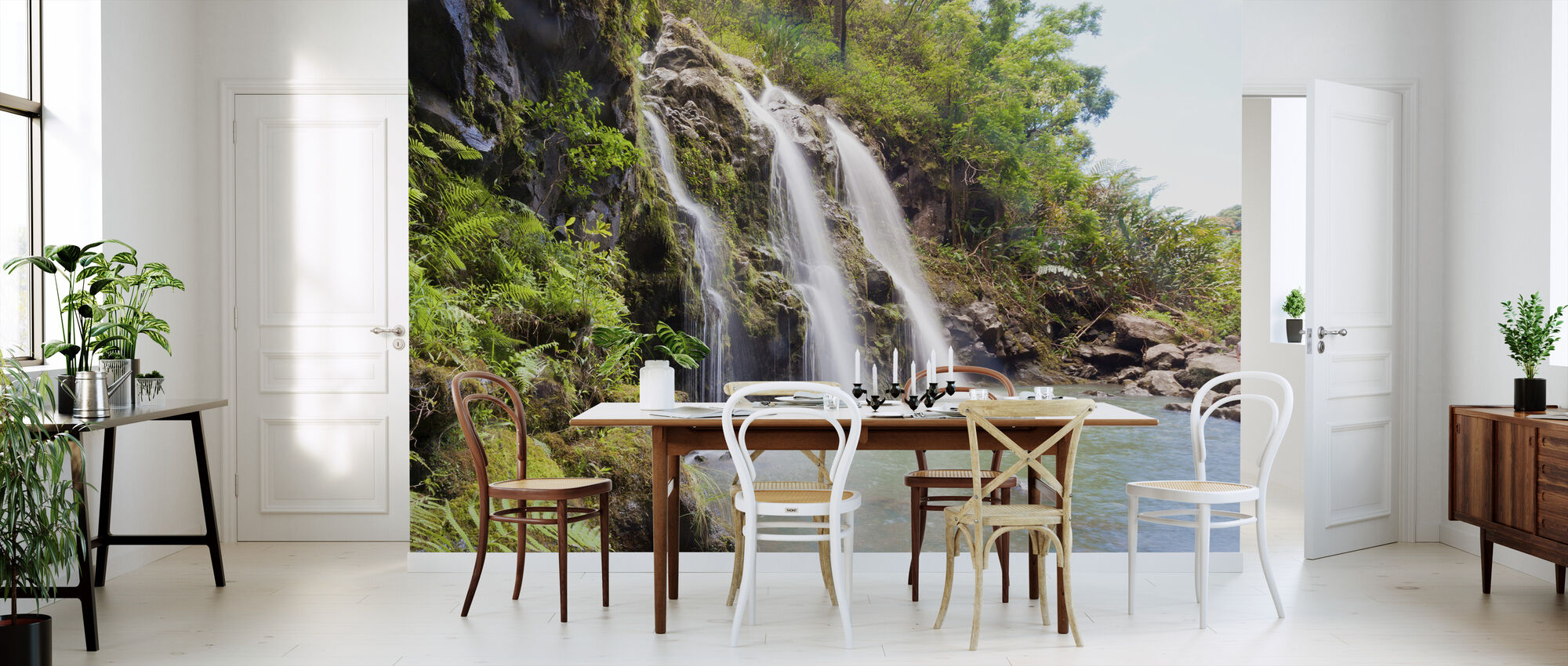 Triple Waterfalls - Wallpaper - Kitchen