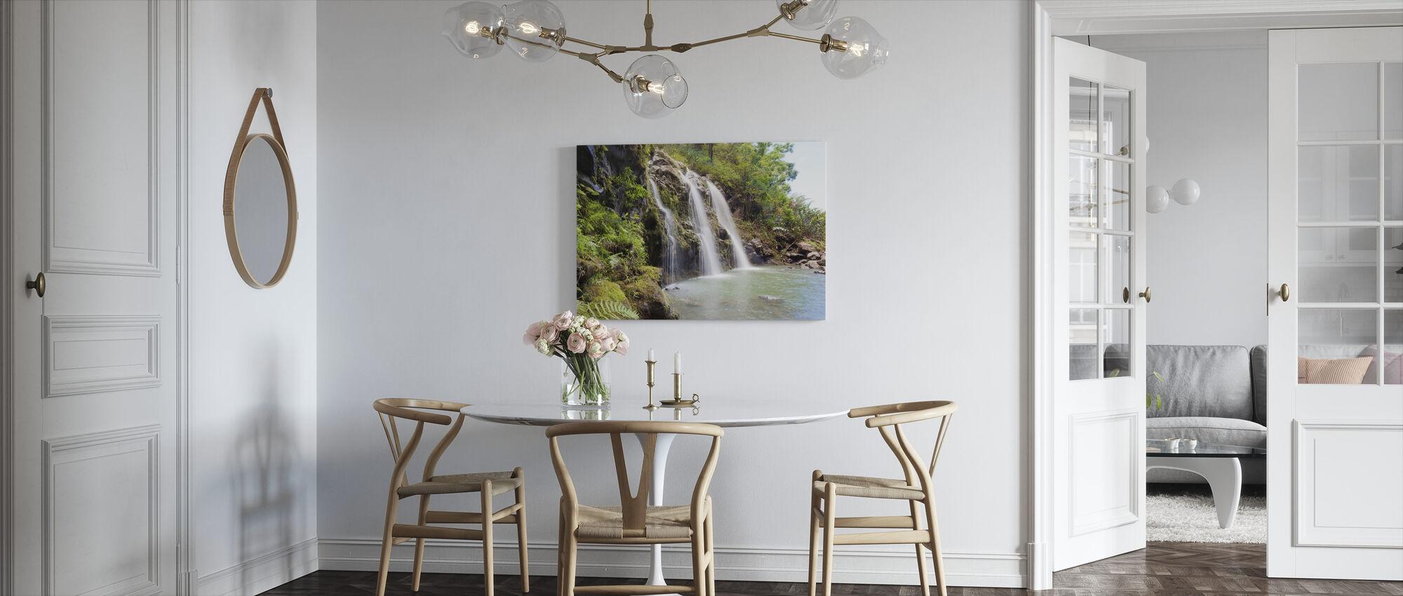 Triple Waterfalls - Canvas print - Kitchen