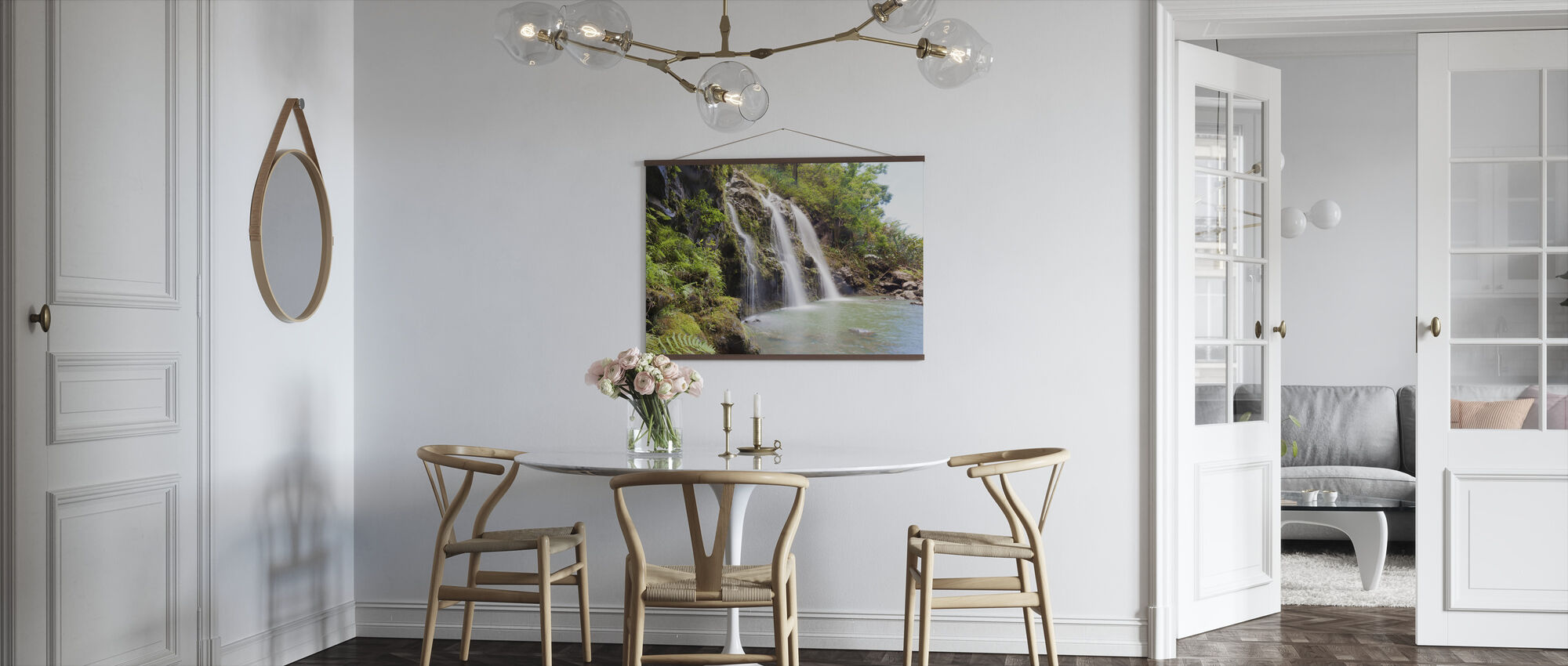 Cascate Triple - Poster - Cucina