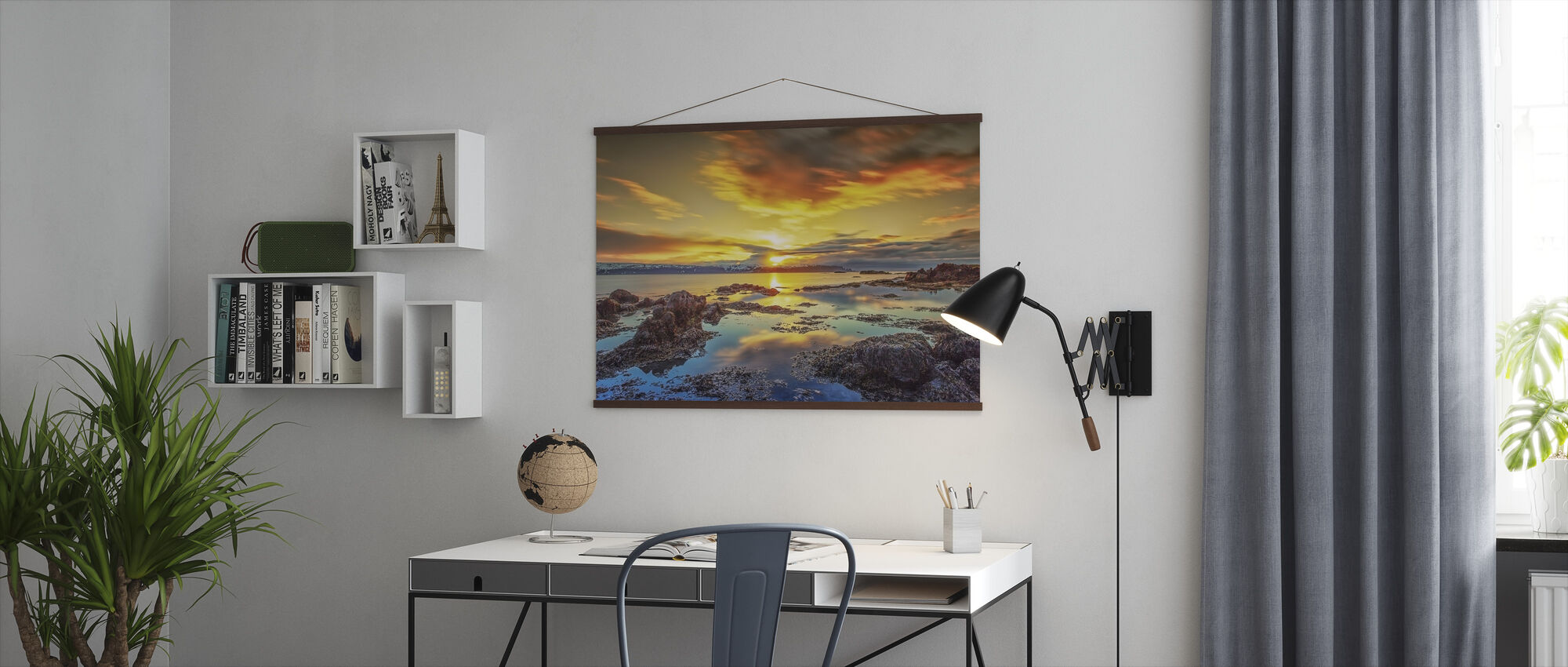 Scenery of West Iceland - Poster - Office