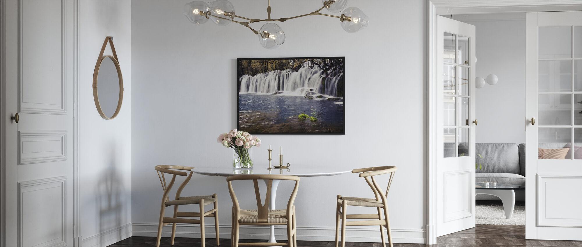 Water Afflux - Framed print - Kitchen