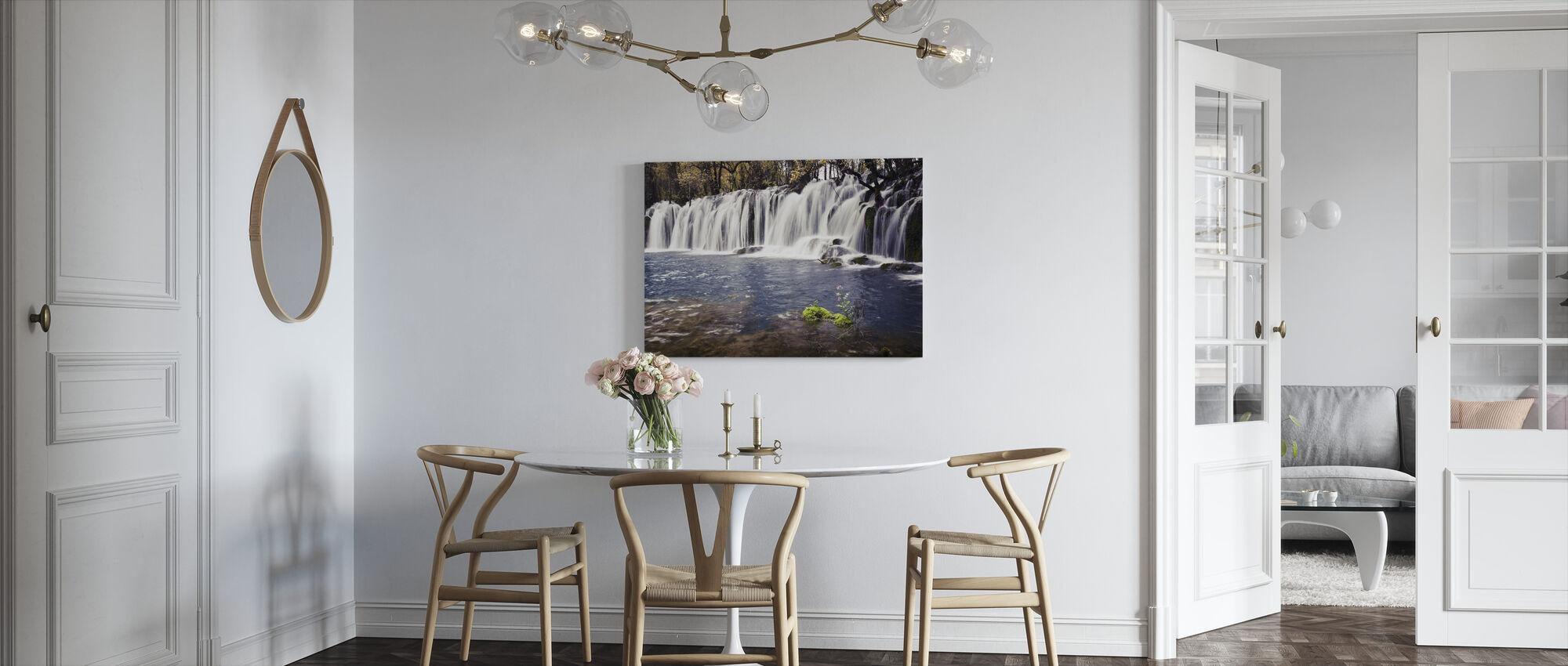 Water Afflux - Canvas print - Keuken