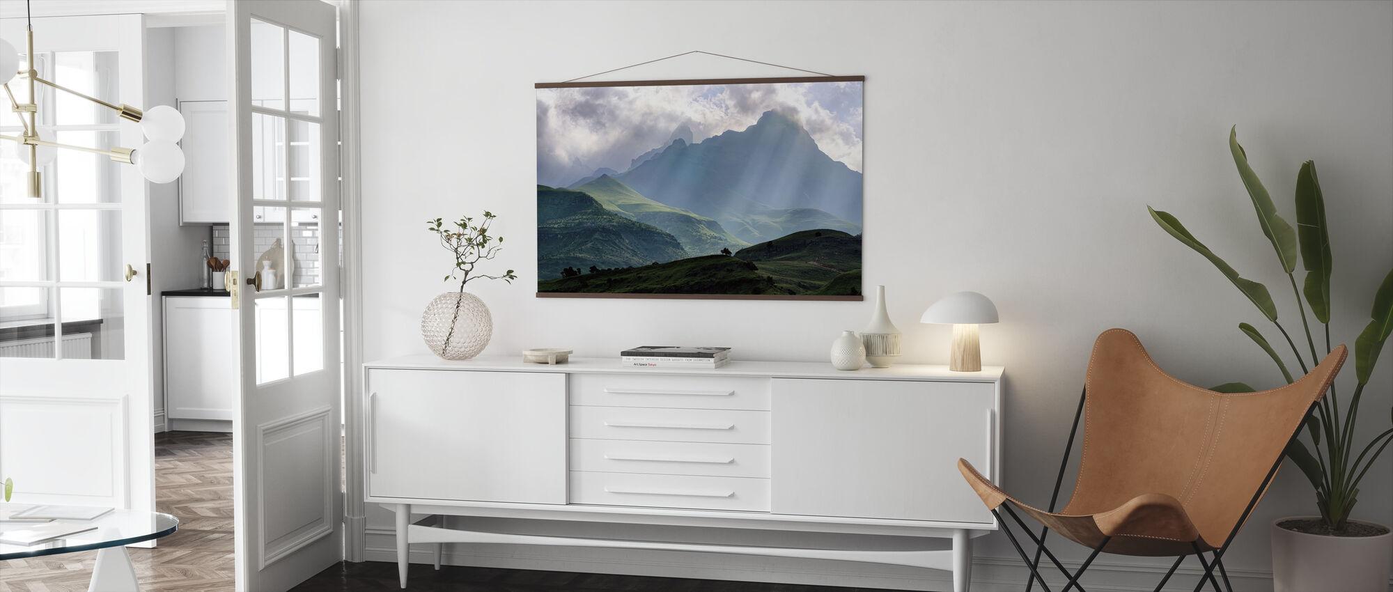 Mnweni Rays - Poster - Living Room