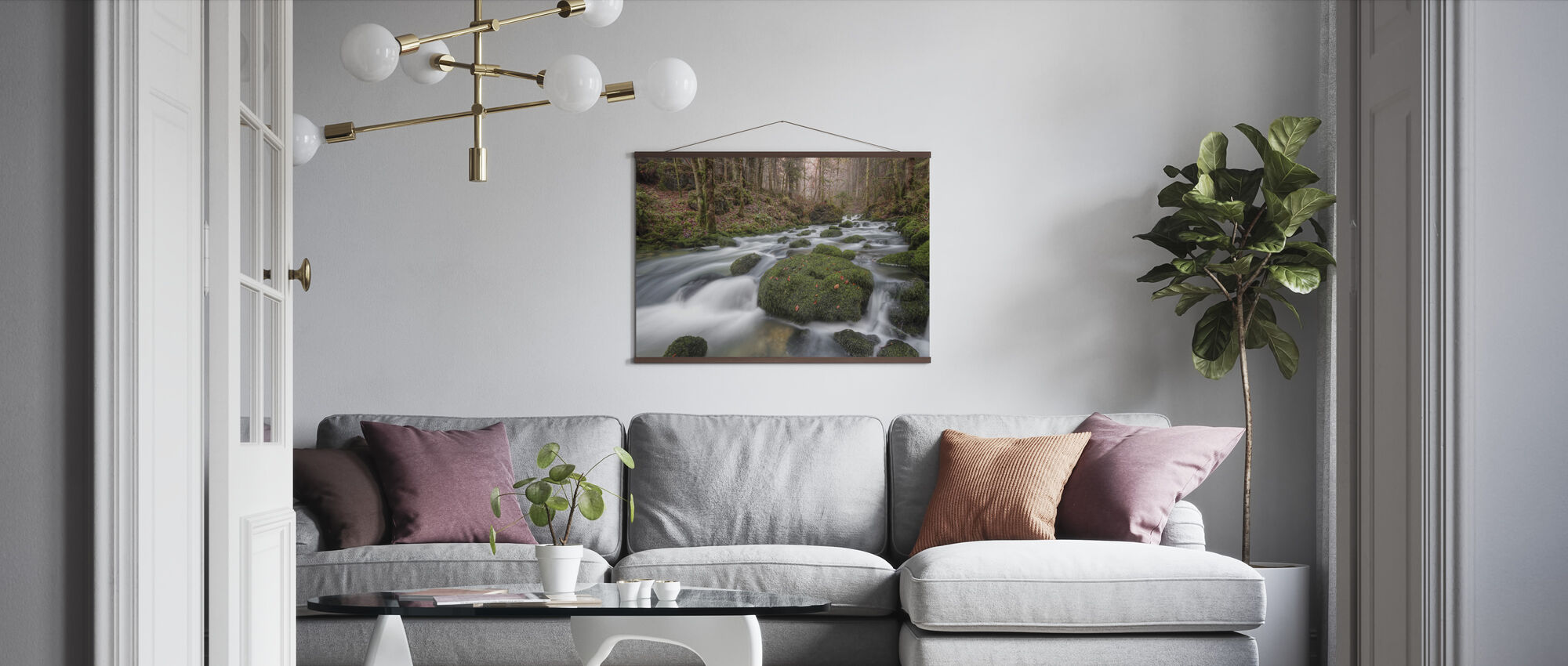 Changing Seasons - Poster - Living Room