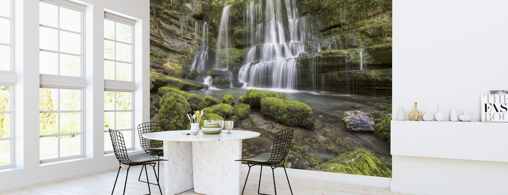 Waterfall of Verneau - Wallpaper - Kitchen