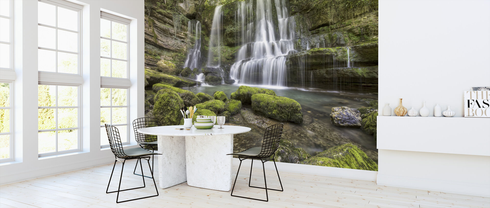 Waterfall of Verneau - Wallpaper - Kitchen