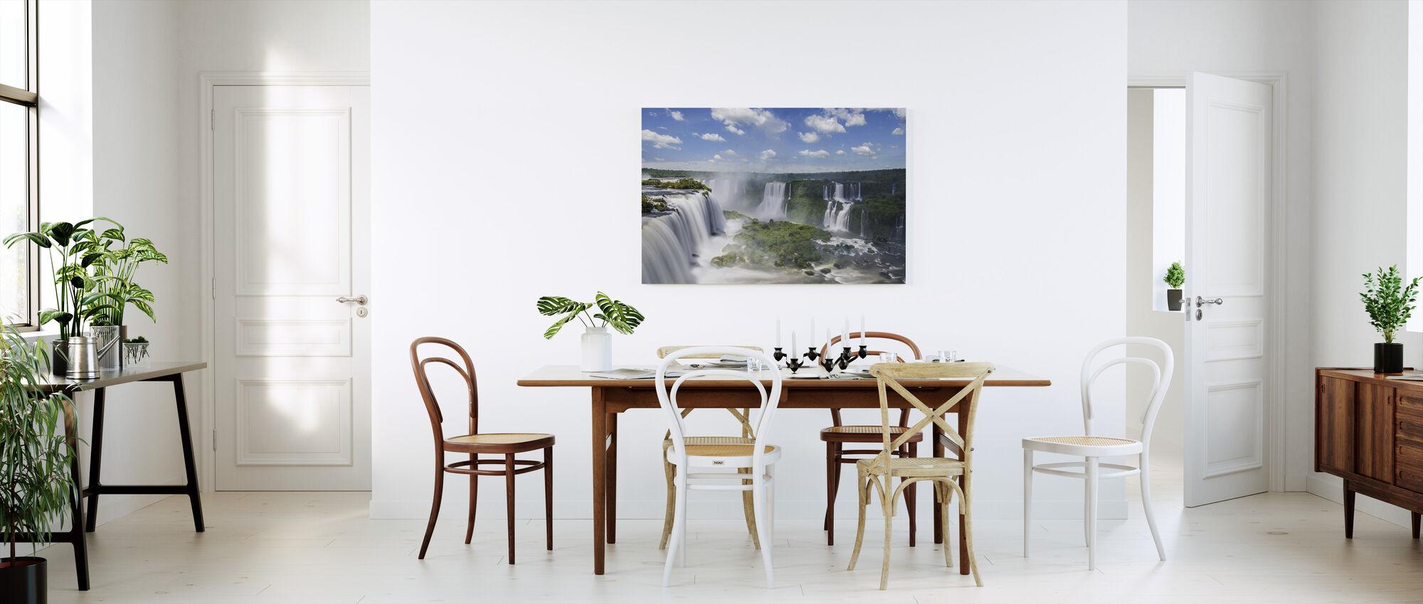 Iguazu vattenfall - Canvastavla - Kök