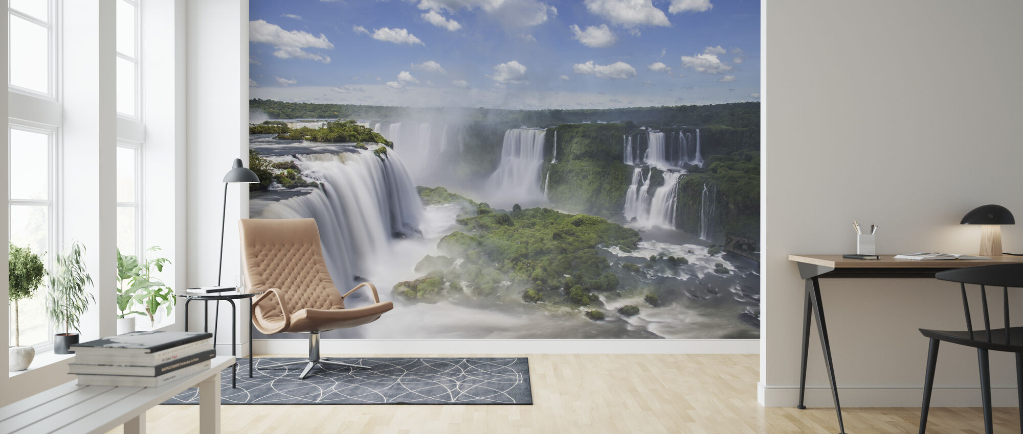 Iguazu Waterfall - Wallpaper - Living Room