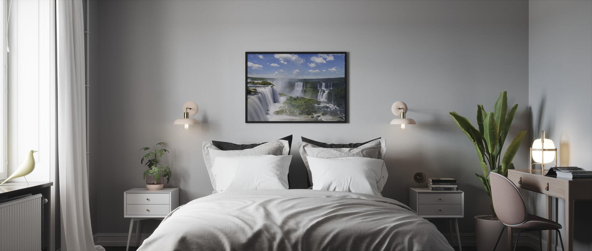 Iguazu vattenfall - Inramad tavla - Sovrum