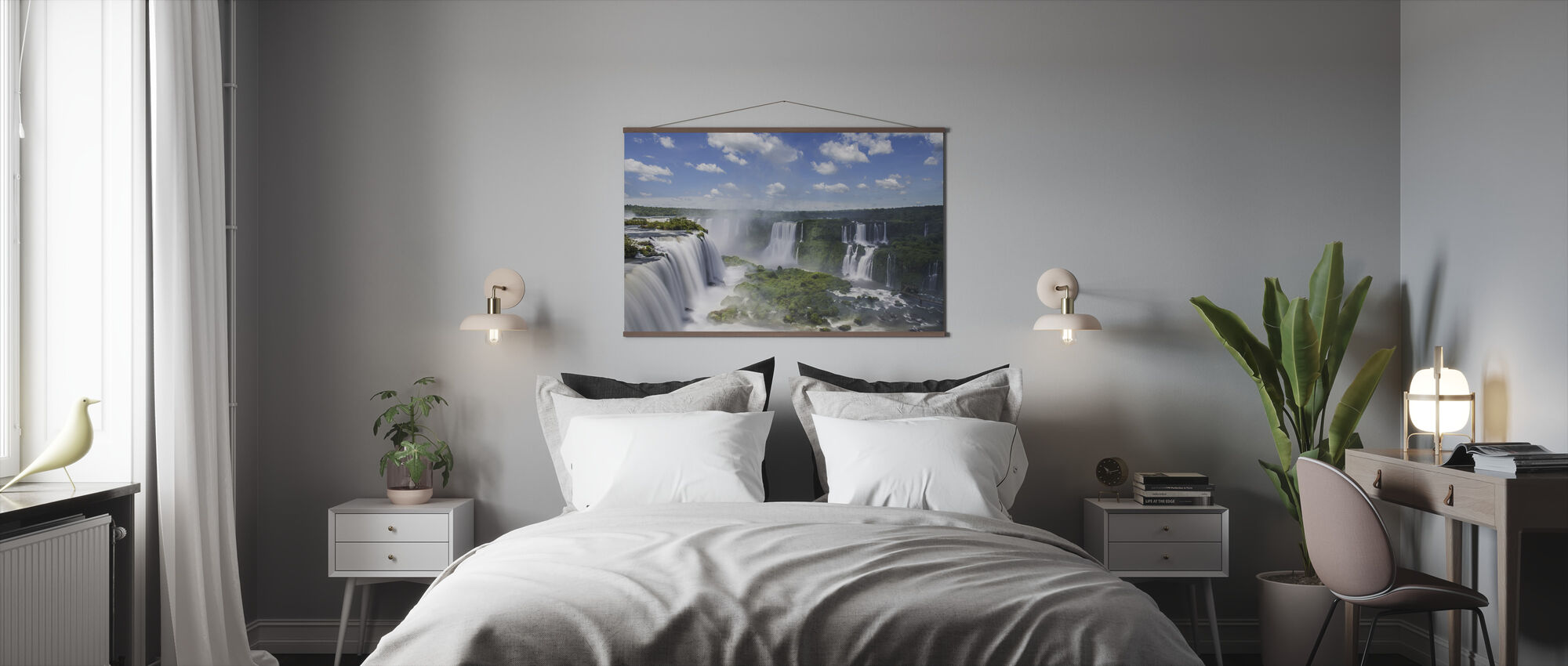 Iguazu Waterfall - Poster - Bedroom