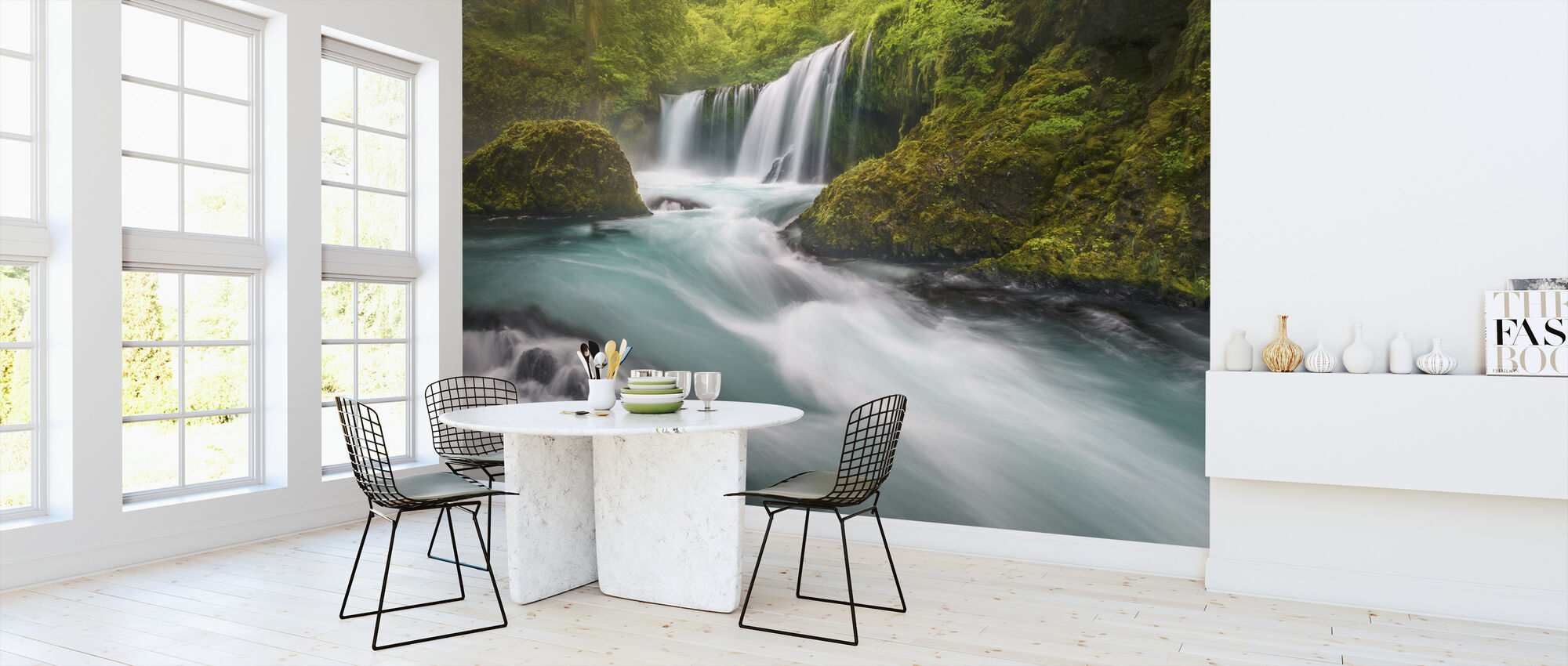 Spirit Falls - Wallpaper - Kitchen