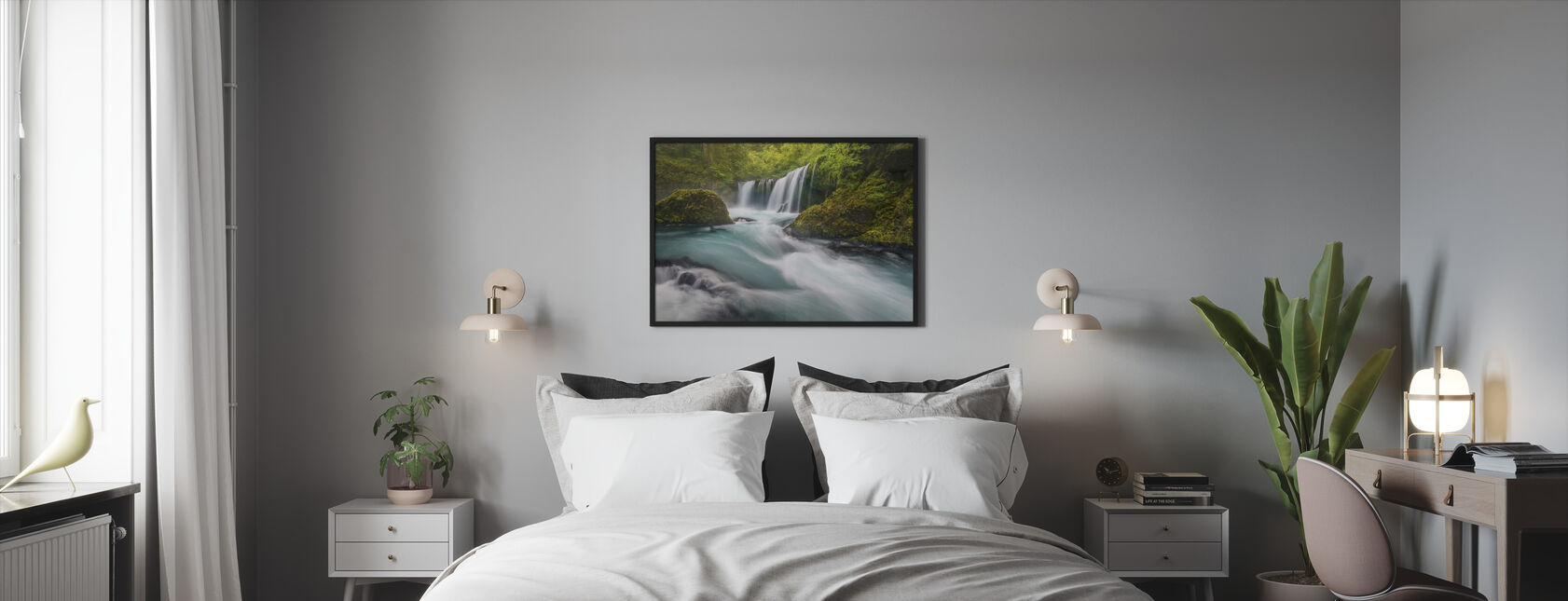 Spirit Falls - Framed print - Bedroom
