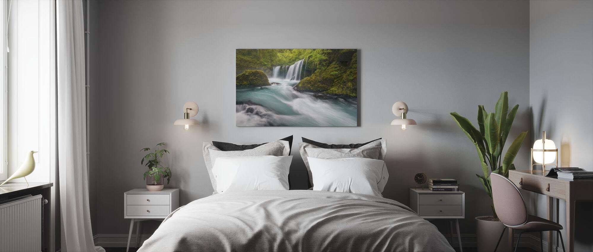 Spirit Falls - Canvas print - Bedroom