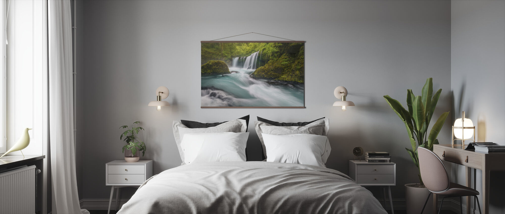 Spirit Falls - Poster - Bedroom