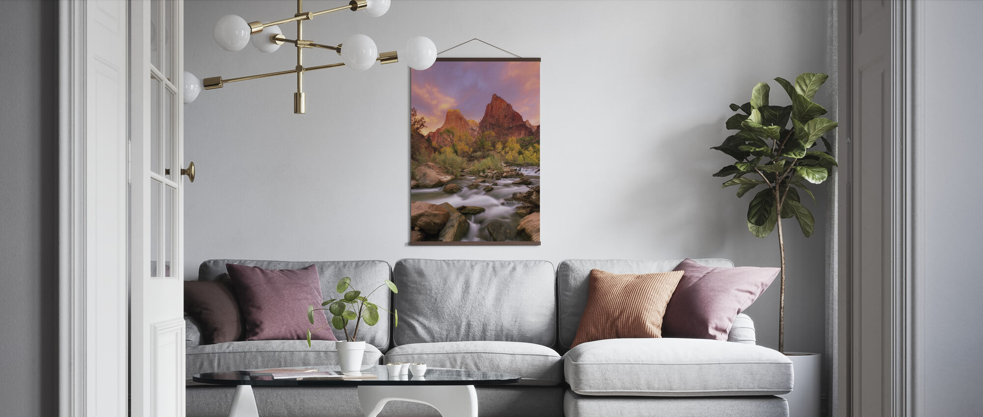 Grand Dawn - Poster - Woonkamer